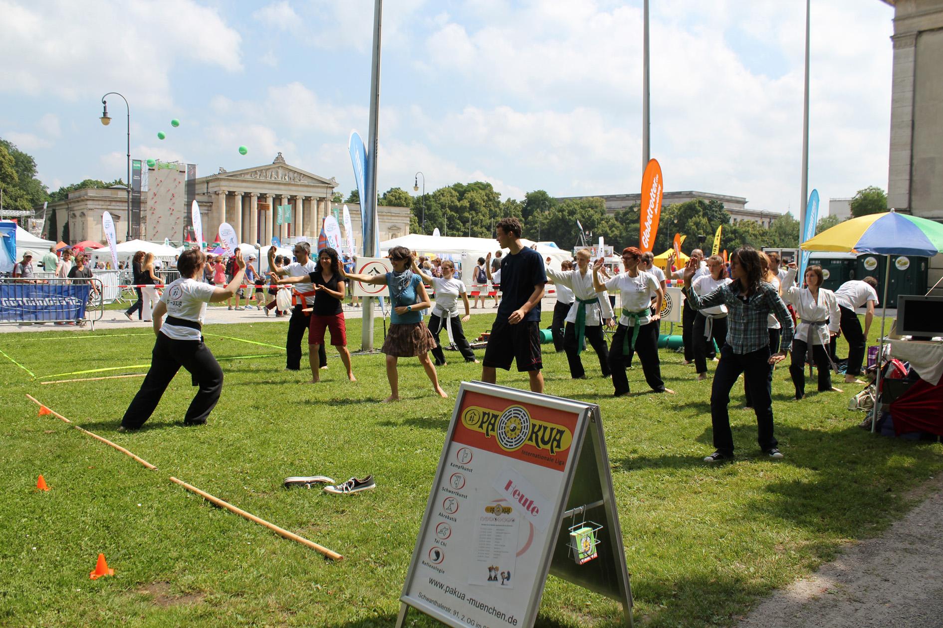 Pa-Kua beim Muc Sport Festival